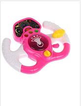 Интерактивная умная игрушка гоночная игра-руль розовая Play Smart, подарок детям от 3 лет, фото 3