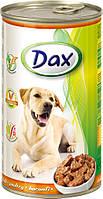 Консерва для собак Дакс с птицей 1240 гр