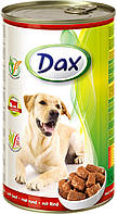 Консерва для собак Дакс с говядиной 1240 гр