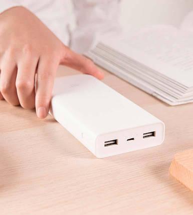 Портативное универсальное зарядное устройство Power Bank 20000 mAh, Легкий павер банк, фото 2