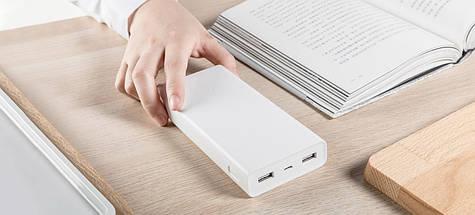 Портативний зарядний пристрій Xiaomi Mi 20000mAh - power bank (павер банк), фото 2