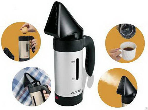 Ручной отпариватель для одежды Hand Held Steamer A6, Паровой утюг, Отпариватель для одежды вертикальный, фото 2
