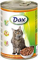 Консерва для котов Дакс с птицей 415 гр