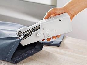 Швейная машинка mini Sewing, Швейная мини машинка ручная FHSM handy stitch автономная компактная, фото 3