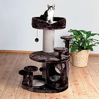 Дом - драпак для кота Emil 96 см, коричневый/бежевый
