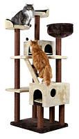 Будинок для кота Felicitas 190 см коричневий / бежевий