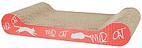 Когтеточка (дряпка) Wild Cat 41х7х24 см оранжевая