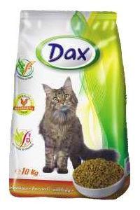Сухой корм для кошек с птицей Dax 10 кг