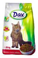 Сухий корм для кішок з яловичиною Dax 10 кг (Дакс)