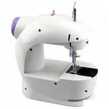 Швейная машинка mini Sewing Machine, Портативная Мини швейная машинка 4 в 1, Mini Sewing Machine, фото 3