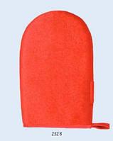 Рукавица для очистки от шерсти и пуха, двухсторонняя, красная