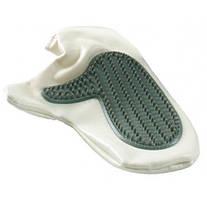 Рукавица-щетка массажная для собак резиновая, 25х14см