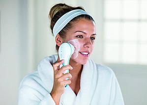 Масажна щітка для особи спін спа spin spa, Щітка для вмивання чищення особи, Spin Spa Facial Cleansing Brush, фото 3