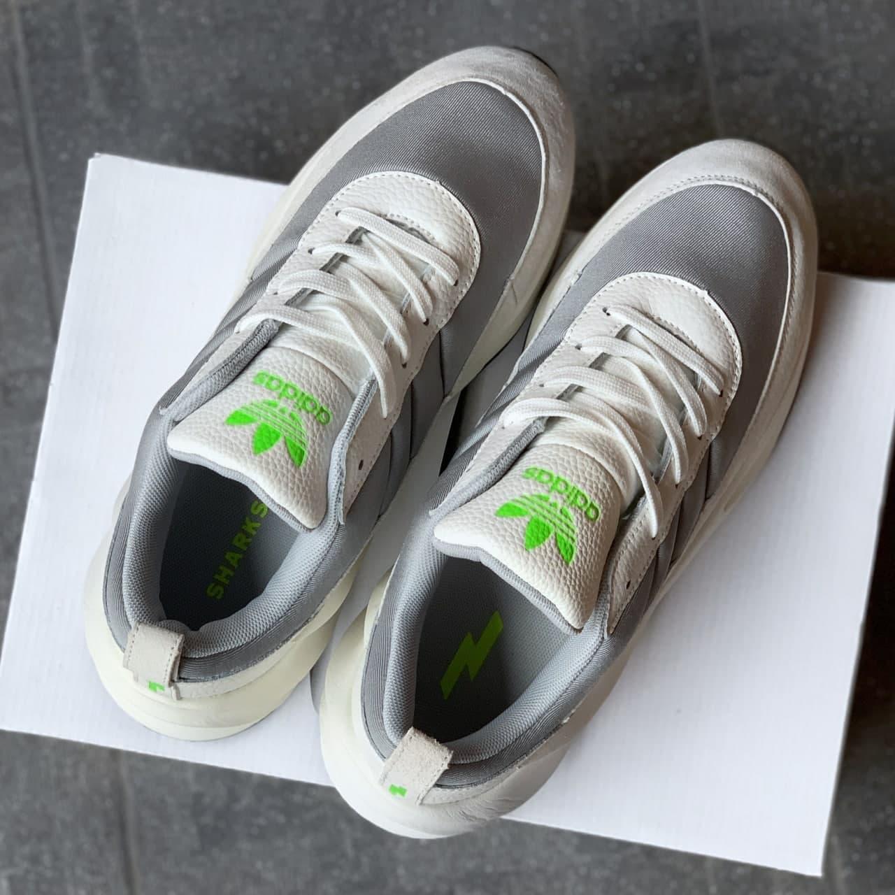 Чоловічі кросівки Adidas Shark white Grey