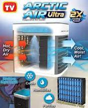 Міні кондиціонер ARCTIC AIR, Портативний охолоджувач повітря. Охолоджувач повітря Arctic Ultra Rovus, фото 2