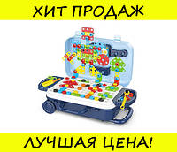 Игровой набор детский с конструктором в чемодане Pazzle 137 деталей! Успешная покупка