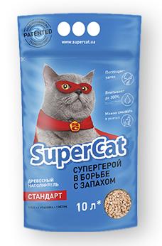 Super cat стандарт 3 кг - Наполнитель для кошачьего туалета