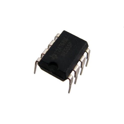 Чип NE555P NE555 DIP8, Таймер интегральный