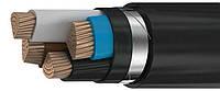 Силовий мідний броньований кабель ВБбШв 4*150