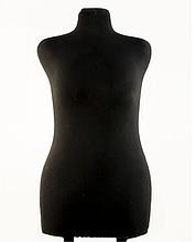 Манекен брючный портновский черный модель Любовь, 50 размер