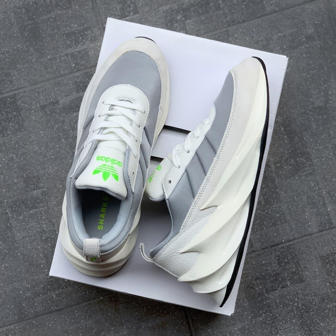 Жіночі кросівки Adidas Shark white Grey