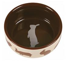 Миска для кролика, 250 мл/Ø 11 см, керамика