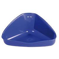 Угловой туалет для хомяка 16 × 7 × 12/12 см