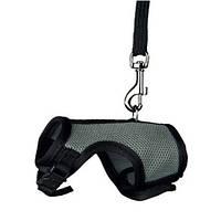 Шлея-жилетка поводок Trixie Harness with Leash для морських свинок 13-17х18-25 см кольори в асортименті