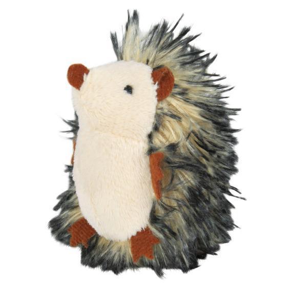 Іграшка Їжачок 8 см з пищалки, плюш, сірий.