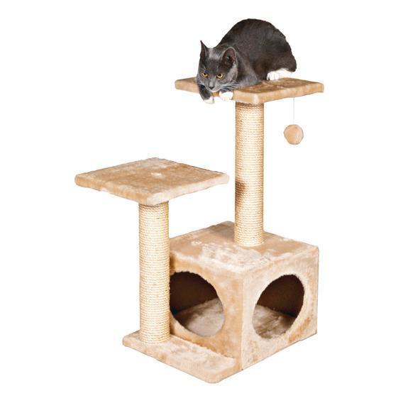 Будиночок для кота Valencia (бежевий) 71 см
