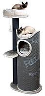 Будиночок для кішки Juana, 134 см, темно-сірий / світло-сірий