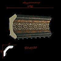 168-767 Карниз с орнаментом декоративный
