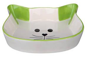 Миска керамическая Cat face, 0,25 л/12 см