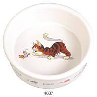 Миска керамическая для кошки 200 мл /ø 11,5 см