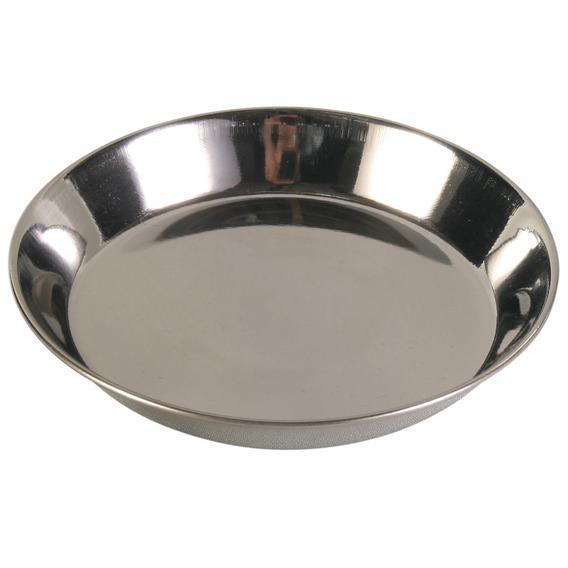 Миска металлическая для кошки 0,3 л/ø 13 см