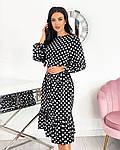 Женское платье софт горох, фото 8