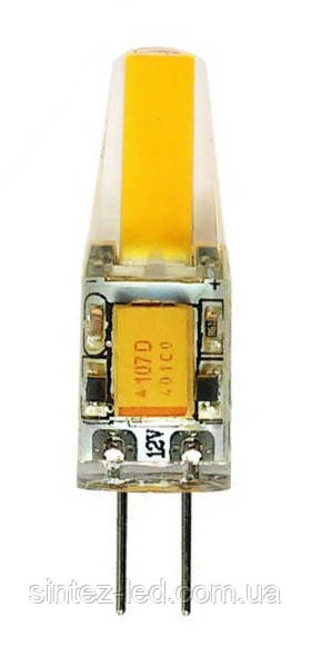 Светодиодная лампа Biom G4 3.5W 4500К 12V в силиконе Код.58548