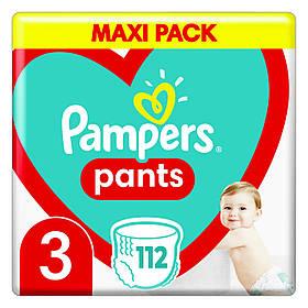 Підгузки-трусики Pampers памперс Pants 3 MEGA PACK ( 112 шт / 6-11 кг)