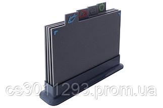 Набір обробних дощок Kamille - 290 x 195 мм граніт (4 шт.), фото 2