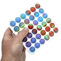 Сенсорная игрушка антистресс Квадрат Pop It для детей и взрослых Вечная пупырка Поп Ит