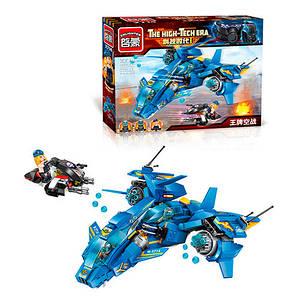 2714 Конструктор самолет, фигурки, 406дет, в кор-ке,37-27,5-6,5см Toys
