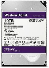 HDD SATA 10.0TB WD Purple 7200rpm 256MB (WD101PURZ)