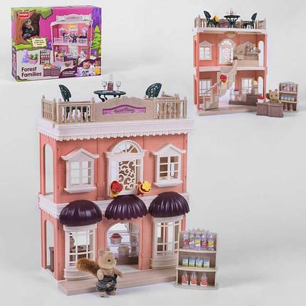 Тематический игровой набор домик для кукол Счастливая семья SD 881 игрушечный магазин с мебелью и продуктами, фото 2