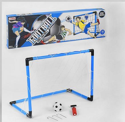 Футбольні ворота компактні переносні для гри у футбол., фото 2