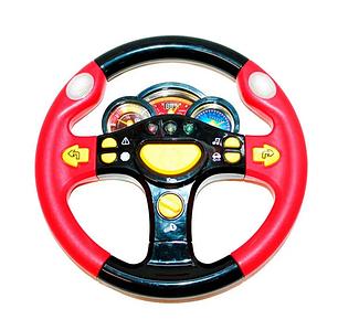 Музична іграшка кермо для дитини маленький водій з підсвічуванням і музикою, іграшки для дітей від 3 років Toys