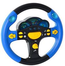 Музична іграшка кермо для дитини маленький водій з підсвічуванням і музикою, іграшки для дітей від 3 років, фото 3