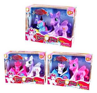 Ігровий набір Літтл поні єдиноріг гумова Royal Pony, Подарунок на день народження дитині 3, 4 роки Toys