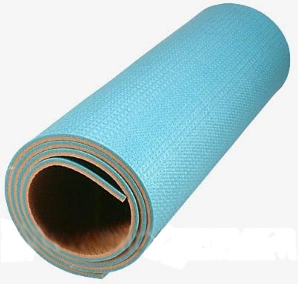 """Двошаровий килимок для йоги та фітнесу, Килимок """"Малюк"""" для спорту 1500х500х5 мм, Дитячі каремати"""