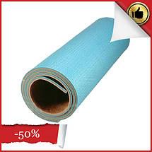 """Двошаровий килимок для йоги та фітнесу, Килимок """"Малюк"""" для спорту 1500х500х5 мм, Дитячі каремати, фото 2"""