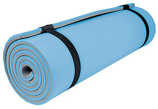 """Двошаровий килимок для йоги та фітнесу, Килимок """"Малюк"""" для спорту 1500х500х5 мм, Дитячі каремати, фото 3"""